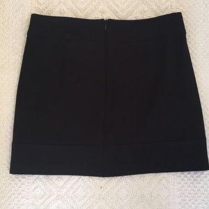 Willi Smith Black Mini Skirt